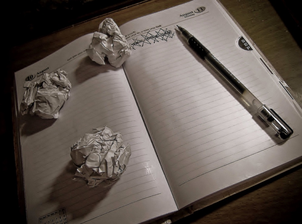 Day 13 – don't read this aka writers block