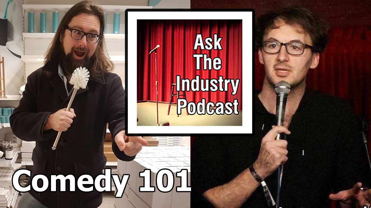 Comedy 101 – Ben Verth interviews Ask The Industry podcast founder and host Simon Caine