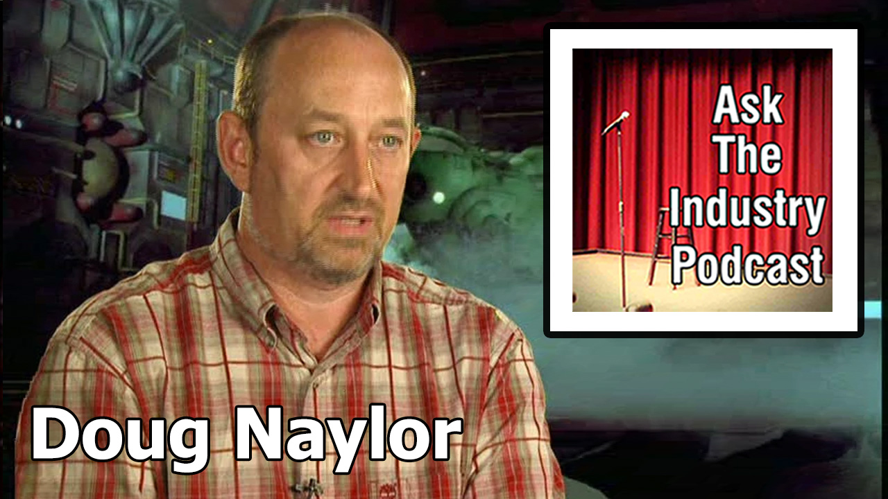 EP104 – Doug Naylor – Writer of Red Dwarf – How to get your sitcom made.