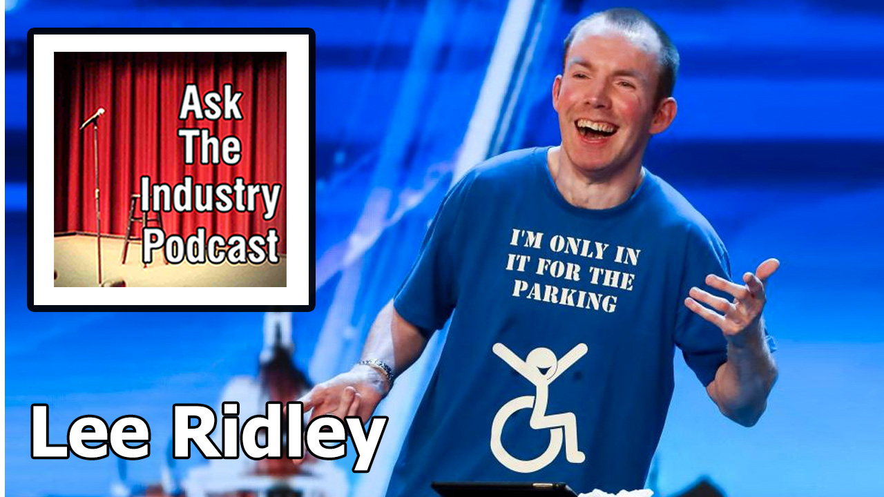 EP107 – Lee Ridley aka Lost Voice Guy – What's it like winning Britain Got Talent?