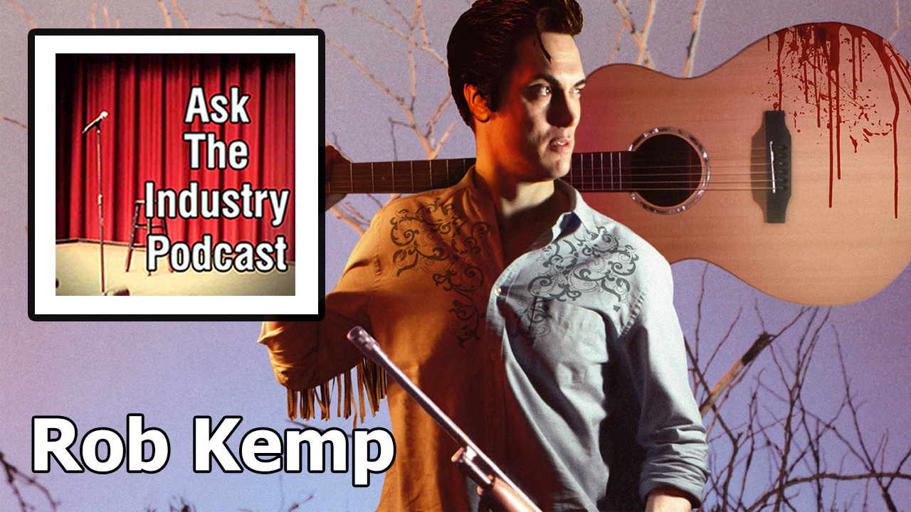 EP108 – Rob Kemp – A after winning 9 awards with The Elvis Dead