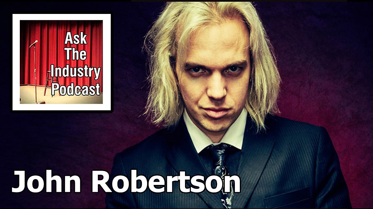 EP110 – John Robertson – You awake to find yourself in a Dark Room.