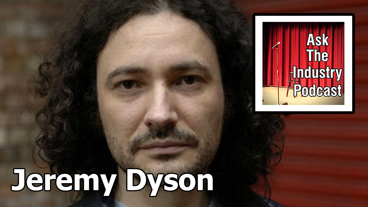 EP122 – Jeremy Dyson – The power of failing, asking for help and writing in partnerships.