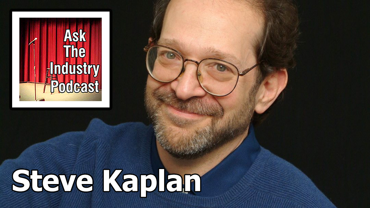 EP116 – Steve Kaplan – The Comic Hero's Journey.