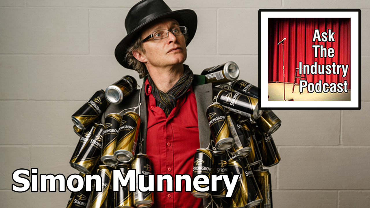 EP120 – Simon Munnery – character comedy and the value of DIY props