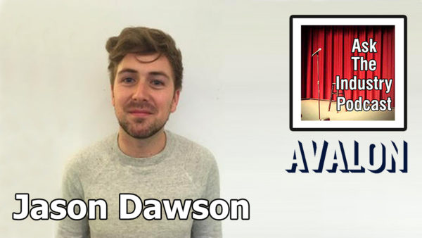 EP131 – Jason Dawson – Freelance Comedy Producer at Avalon