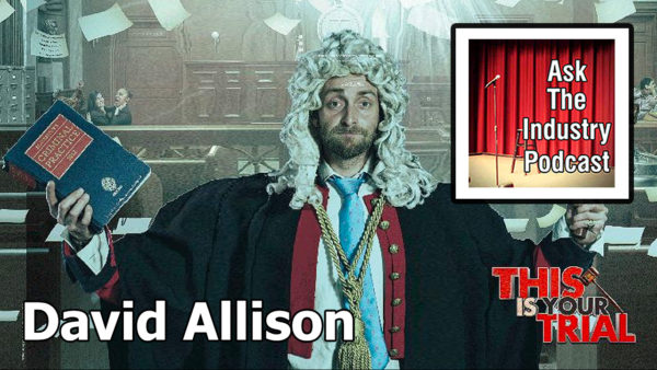 EP124 – David Allison – The impact of social media on This Is Your Trial comedy nights